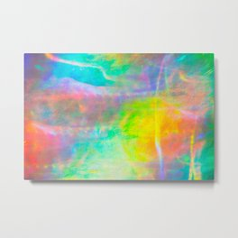 Prisms Play Of Light 1 Metal Print