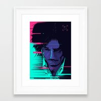 movie poster Framed Art Prints featuring Oldboy - Alternative movie poster by FourteenLab