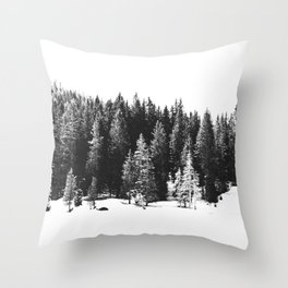 Black and White Print, Wall Art, Black and White Art Throw Pillow