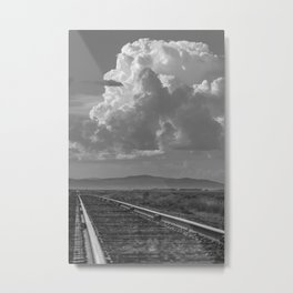 """Farm Country Rails"" by Murray Bolesta! Metal Print"
