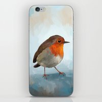 robin hood iPhone & iPod Skins featuring Robin by Freeminds