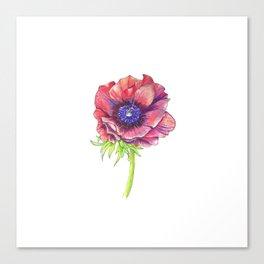 Floral Graphic Design Elements Canvas Print
