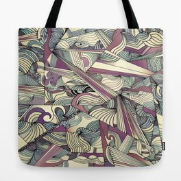 When my Mind Goes Boom. Tote Bag
