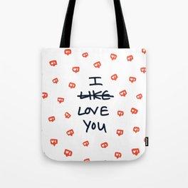 Instagram Boyfriend/Husband Valentine Tote Bag