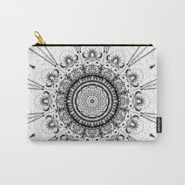 Sunday Mandala Carry-All Pouch