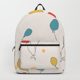 Colorful Balloons Backpack