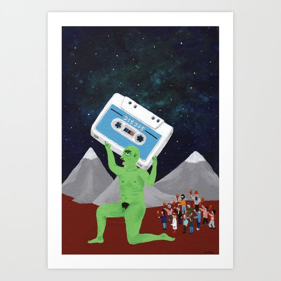 Green Giant Art Print
