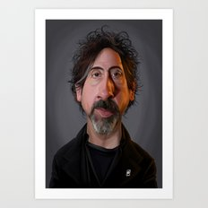 Celebrity Sunday - Tim Burton Art Print