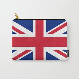 UK Flag, High Quality Authentic 3:5 Scale Carry-All Pouch