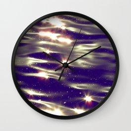 Waterstars Wall Clock