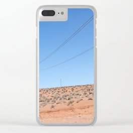 The Pinks and Blues of Antelope Canyon 01 Clear iPhone Case