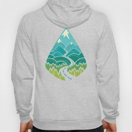 The Road Goes Ever On: Summer Hoody