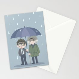 Pacific Rim - Rainy Day Stationery Cards