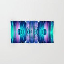 Cavernous Glitch - Abstract Pixel Art Hand & Bath Towel