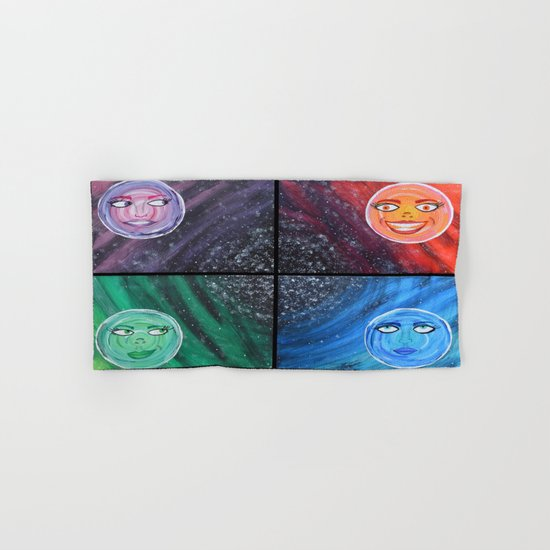 Sister Moons Hand & Bath Towel