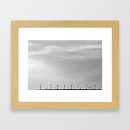 Turbines Framed Art Print