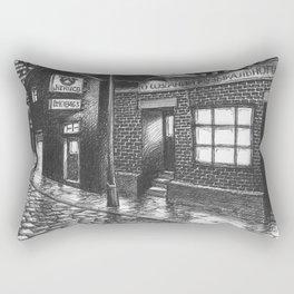 Warehouse music after work Rectangular Pillow