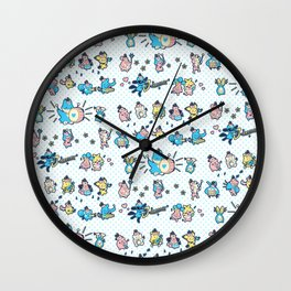 Mitchiri Mon March Wall Clock