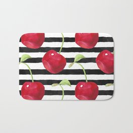 Cherry pattern Bath Mat