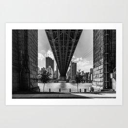 Queensboro Bridge Art Print