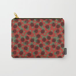 Red raspberries Carry-All Pouch