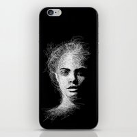 cara iPhone & iPod Skins featuring CARA by naidl