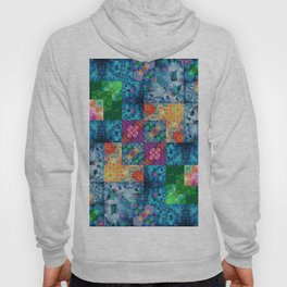 High Definition Geometric Quilt 1 Hoody
