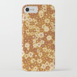 Ditsy Daisy Meadow in Goldenrod iPhone Case