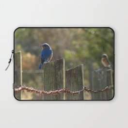 Splash of Blue Laptop Sleeve