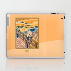 The Scream by Munch Laptop & iPad Skin