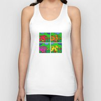 cows Tank Tops featuring Cows by Stefan Stettner