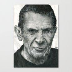 Leonard Nimoy Traditional Portrait Print Canvas Print