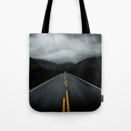 Open Road Landscape Tote Bag