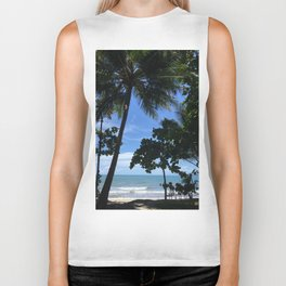 Queensland Australia beach Biker Tank