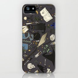 Witch's things iPhone Case