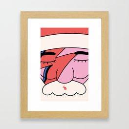 Christmas rock soul Framed Art Print