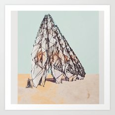 The Bedouins Tent Art Print