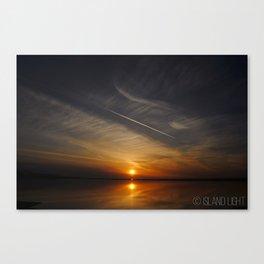 Sunset in Sequim, Washington Canvas Print