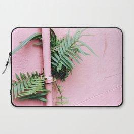 Plants on Pink Laptop Sleeve