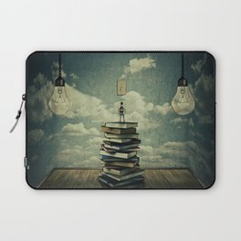 switch on your mind Laptop Sleeve