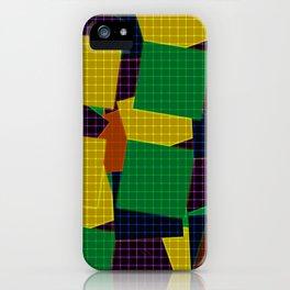 Beautiful patchwork iPhone Case