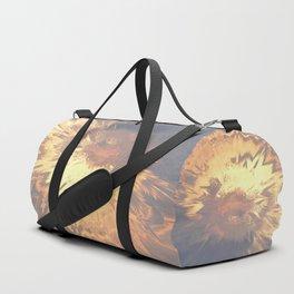 Sunset mandala explosion Duffle Bag