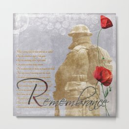 Remembrance Metal Print