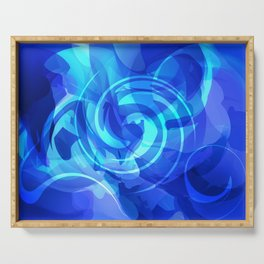 Abstract XVI Serving Tray