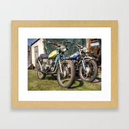 Suzuki Scramblers  Framed Art Print