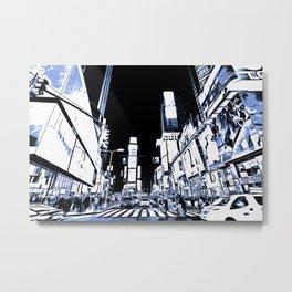 Times Square Art Metal Print