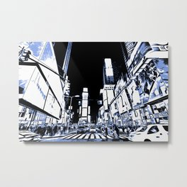 Times Square Art Metal Print