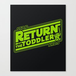 Star Kids: Return of the Toddler Canvas Print