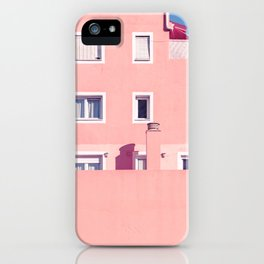 Sunny House And Blue Sky iPhone Case