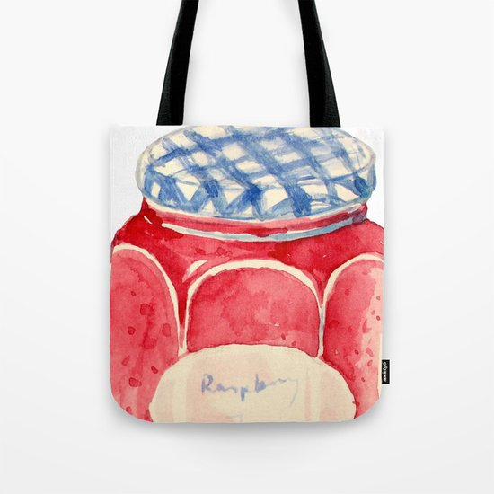 Raspberry Jam Tote Bag